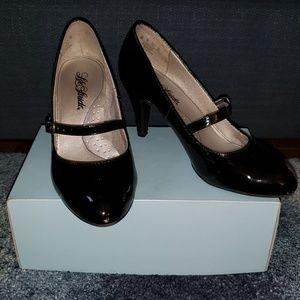 Black Kitten Mary Janes